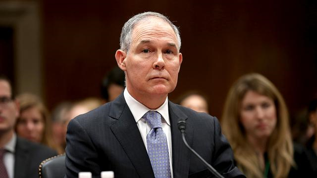 Corrupt EPA Adminstrator Scott Pruitt. Photo: Greg Nash
