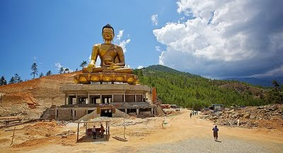 Building The World Largest Buddha Bhutan Image