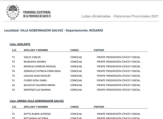 Finalmente son 28 listas oficializadas de precandidatos a concejales: El Tribunal Electoral publicó las nóminas