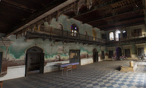 Main hall of the Gurdawara
