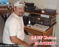 W6AWS 1st HF Station