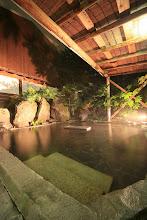 Photo: 露天風呂 夜2outside onsen