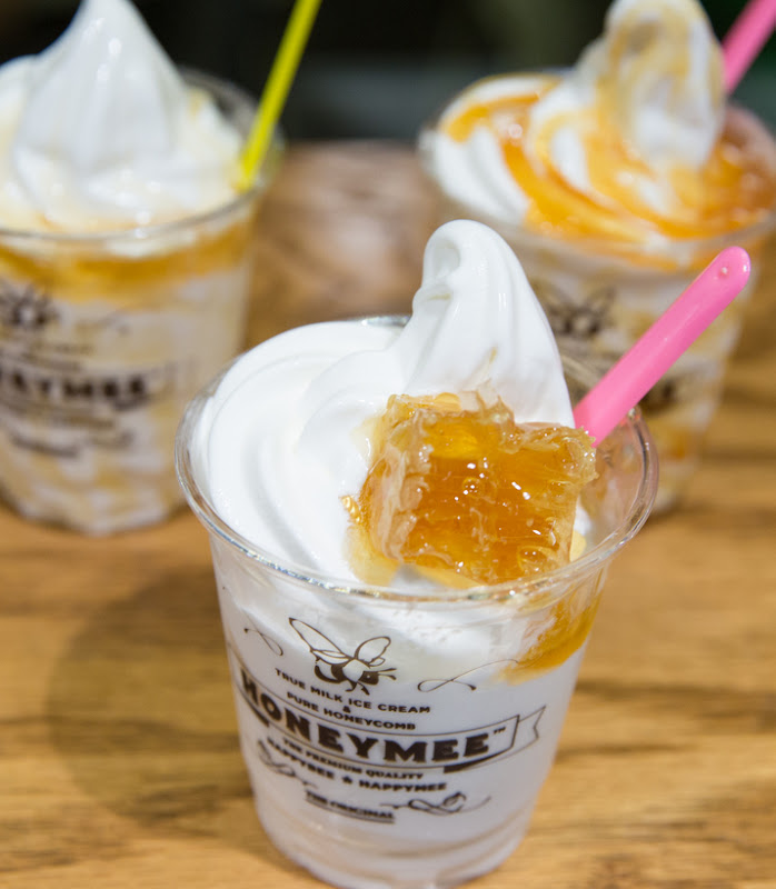 photo of ice cream served at Honeymee