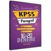Tercih Akademi Yayınları 2020 KPSS Paragraf 16 × 20 Deneme