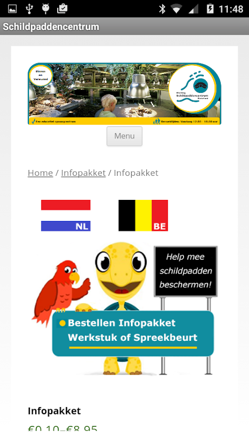 Schildpaddencentrum: screenshot