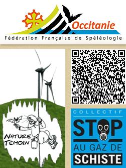 Nature-Témoin est actif au Comité Régional de spéléologie d'Occitanie et au Comité de Spéléologie du Gard