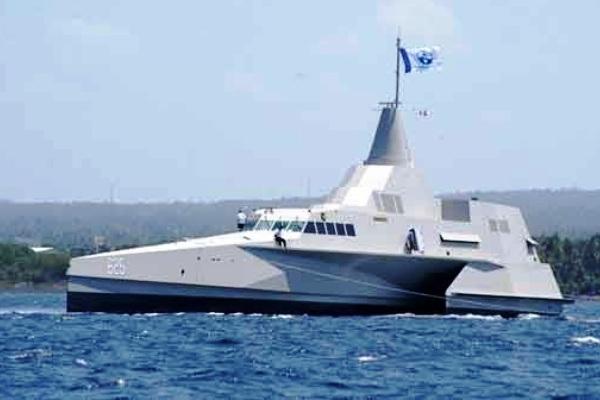 Kapal Cepat Rudal (KCR) Trimaran. PROKIMAL ONLINE Kotabumi Lampung Utara