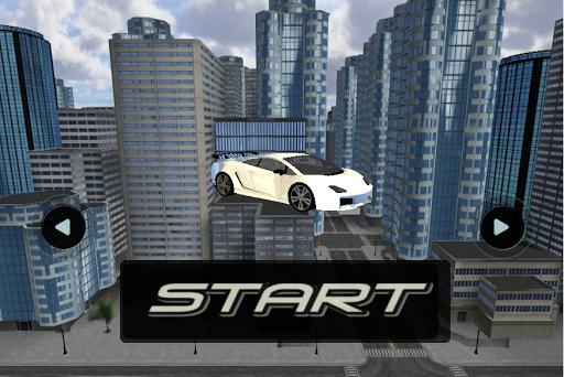 luxury city car simulation 3D