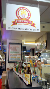 Frietkoten Belgian Fries, Sauces, Beers, at Chicago French Market