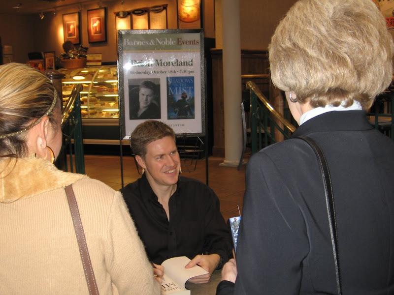 Brian Moreland Writer Signing 01, Brian Moreland