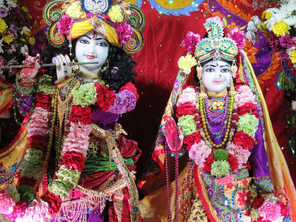 ISKCON Chicago Deity Darshan 22 Jan 2016  (2)