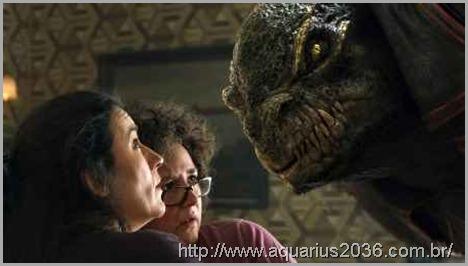 Os alien do sistema de alfa draconis são os reptilianos originais.