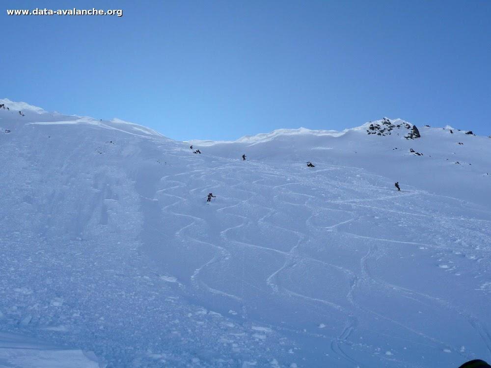 Avalanche Queyras, secteur Peouvou, Col des Ugousses - Photo 1
