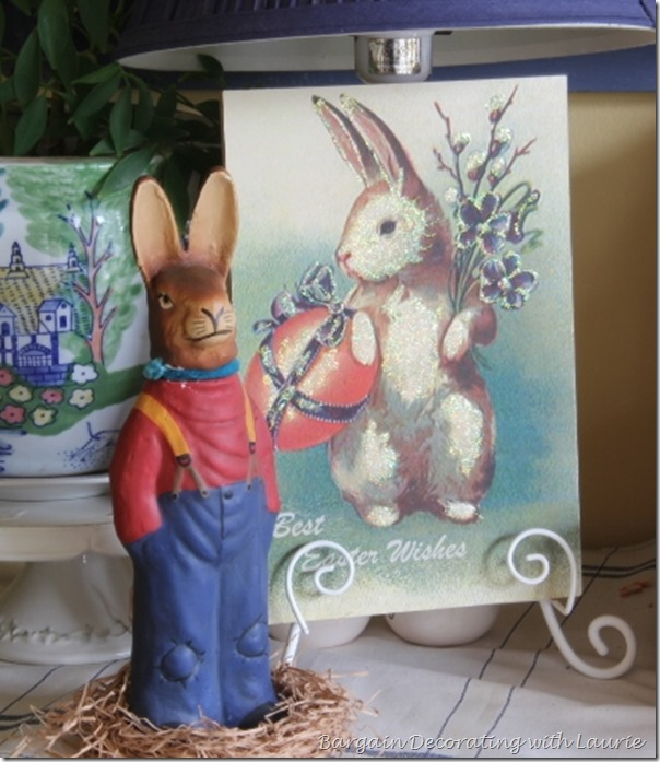 Easter Decor-Bargain Decorating with Laurie