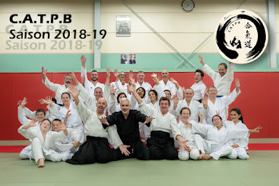 CATPB, photo de groupe saison 2018/19