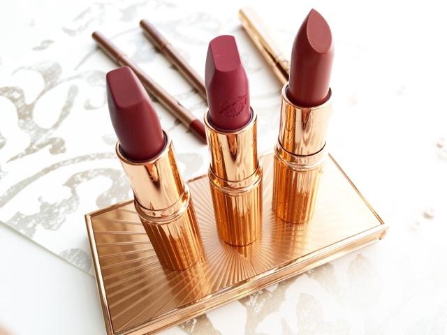 charlotte tilbury lipstick haul