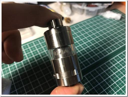 IMG 6129 thumb - 【究極のRTA?】Titanium Mods ATAMAN III RTAレビュー!フレーバーチェイス向けのリキッドをより上のレベルに進化させる至高のRTA!