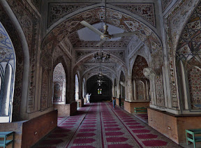 Mohabbat Khan Mosque in Peshawar, Khyber Pakhtunkhwa, Pakistan