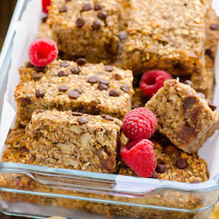 Clean Baked Banana Nut Oatmeal Bars