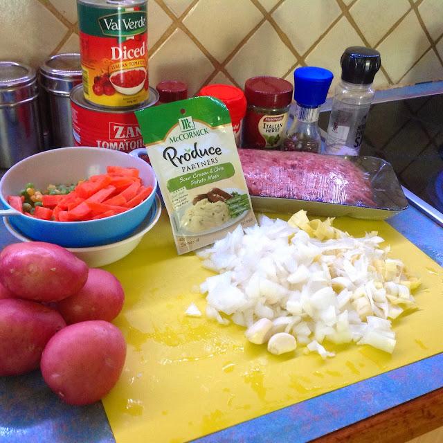 Fay's Homemade Recipes: Greek Shepherds pie