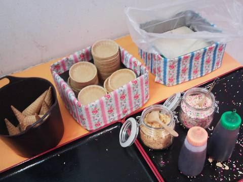 ソフトクリームコーナー:トッピング 回転寿司かいおう小牧パワーズ店