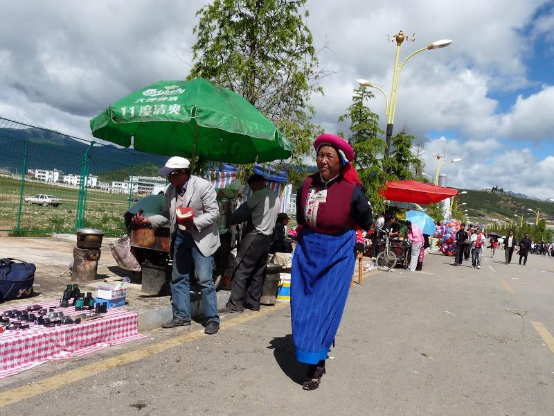 Chine. Yunnan.Shangri la Course hippique annuelle - P1250747.JPG