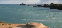 Pointe du Grouin : chenal de la Vieille Rivière