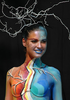 Artistic Body Painting Pictures