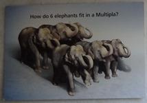 659 11-carte postale Fiat Multipla