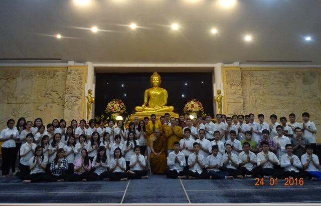 PC MAGABUDHI Jakarta Utara melaksanakan Kursus Dasar Agama Buddha (KDAB)