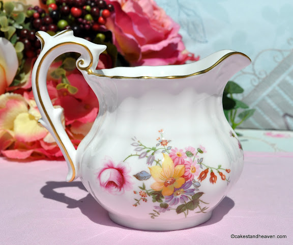 Derby Posies Half Pint Milk Jug