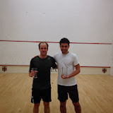 2013 RI Open, 5.5 Open winner Hur Koser, and John Sayward, finalist