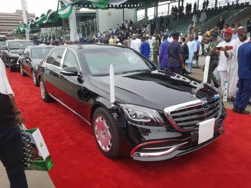 May 29: Buhari's New Inauguration Car Worth N280m, Not N61m – Says Expert (Photo)