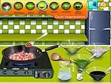 لعبة طبخ الجمبرى