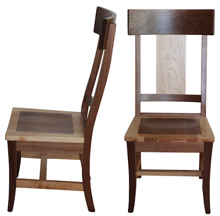 Legacy Dining Chair in Mixed Wood (Hickory and Walnut)