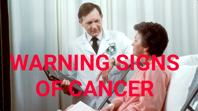 cancer:What are the warning signs of cancer?