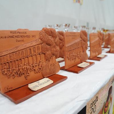XXIII Memorial Galo Sánchez-Bermejo - Trofeos