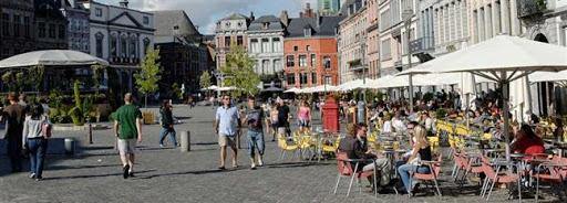 Bruselas Valonia: terrazas de las cafeterias