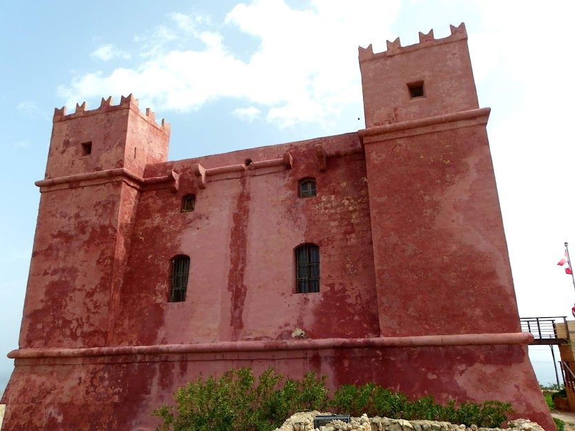 The Red Tower, Mellieha