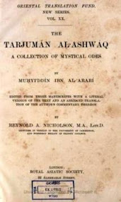 Cover of Muhammad Ibn Arabi's Book Tarjuman Al Ashwaq A Collection Of Mystical Odes