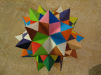"Spiked Pentakis Dodecahedron in Meenakshi Mukerji's ""Marvelous Modular Origami""."