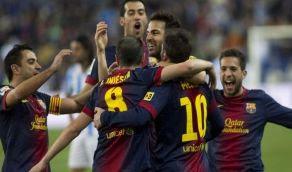 Goles Maalaga Barcelona [1-3] 13 enero Video Messi