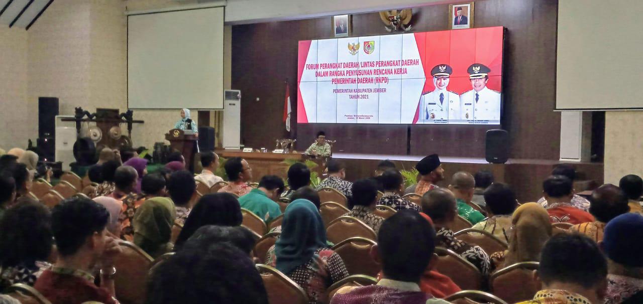 Bupati Jember Ajak Jajarannya Fokus Kepada RKPD