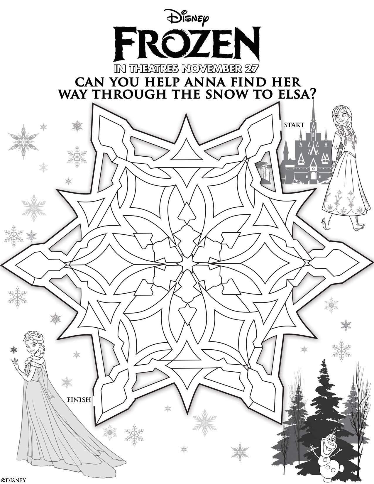Unique Disney Frozen Character Coloring Pages Photos