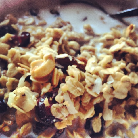 Homemade Granola for Breakfast