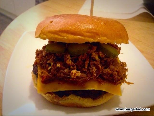 Burger Lad PFT Pretty Fucking Tasty