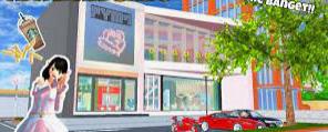 ID Mall Ramayana Di Sakura School Simulator