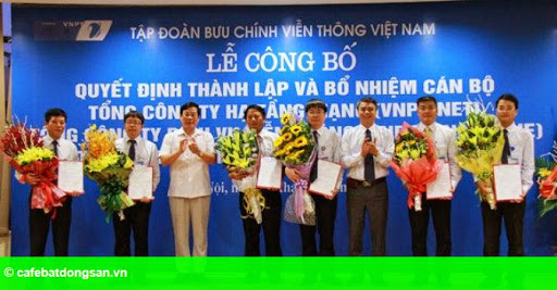 Hình 1: VNPT ra mắt 3 Tổng công ty mới