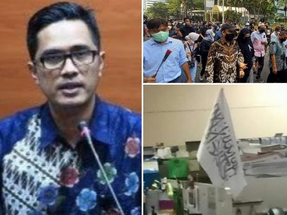 Febri Diansyah Bongkar Janggalnya Bendera HTI di Meja Pegawai KPK: Isu Basi Murahan!
