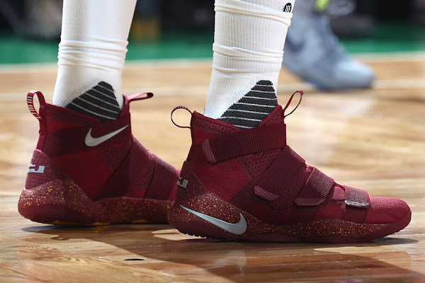 Tristan Thompson and JR Smith Debut LeBron Soldier 11 Cavs PE